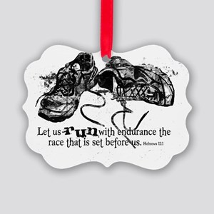 runningshoes Picture Ornament